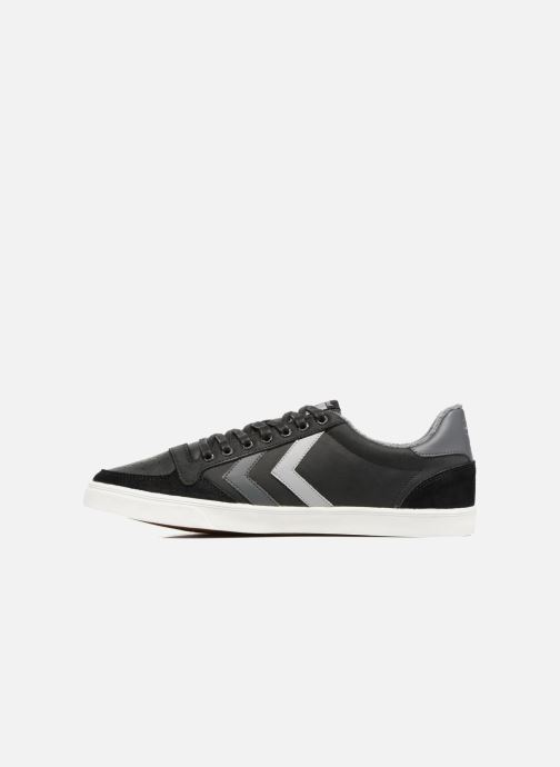Sneakers Hummel Slimmer Stadil Duo Oiled Low Nero immagine frontale