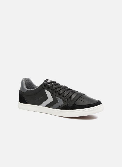 Sneaker Hummel Slimmer Stadil Duo Oiled Low schwarz detaillierte ansicht/modell