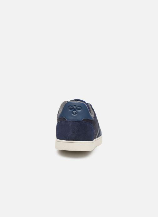 Sneaker Hummel Slimmer Stadil Duo Oiled Low blau ansicht von rechts