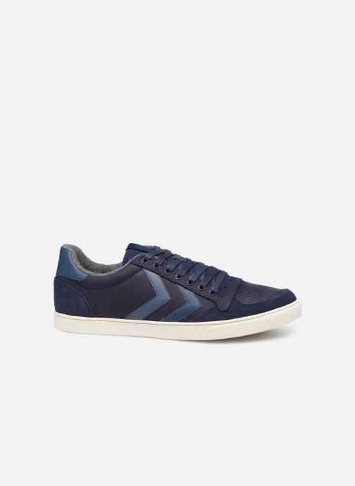 Sneaker Hummel Slimmer Stadil Duo Oiled Low blau ansicht von hinten