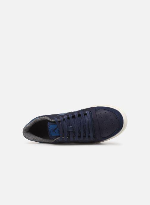 Sneaker Hummel Slimmer Stadil Duo Oiled Low blau ansicht von links
