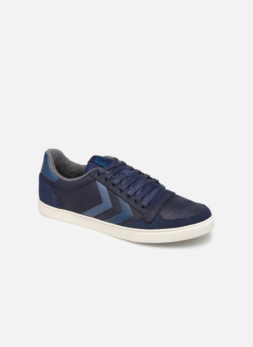Sneakers Hummel Slimmer Stadil Duo Oiled Low Azzurro vedi dettaglio/paio