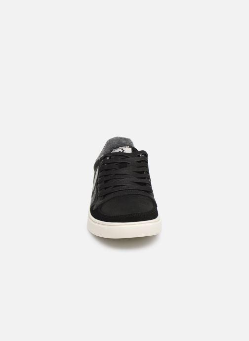 Sneaker Hummel Slimmer Stadil Duo Oiled Low schwarz schuhe getragen