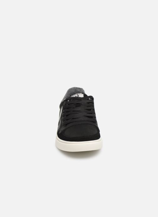 Trainers Hummel Slimmer Stadil Duo Oiled Low Black model view