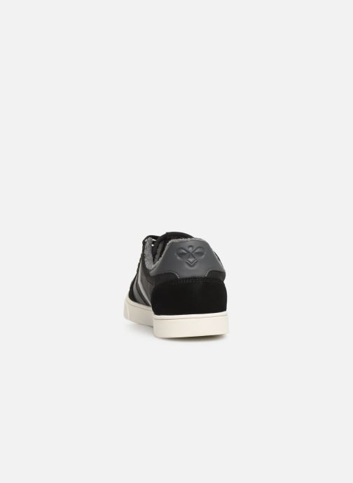 Trainers Hummel Slimmer Stadil Duo Oiled Low Black view from the right