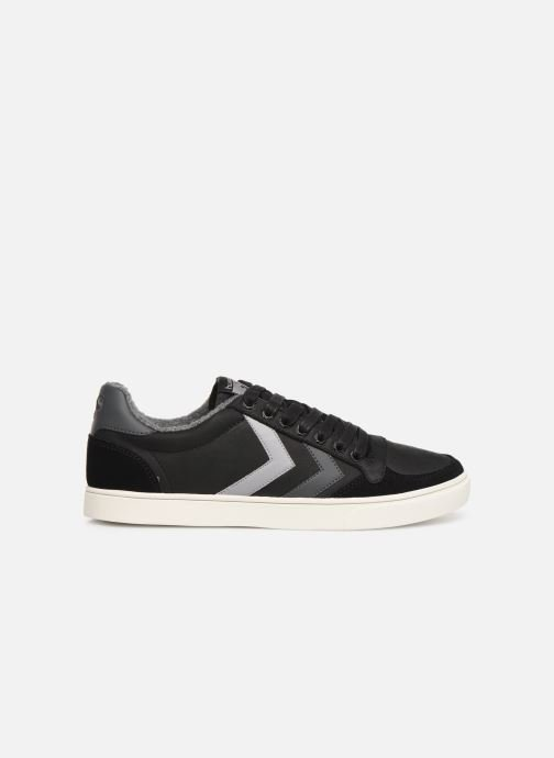 Trainers Hummel Slimmer Stadil Duo Oiled Low Black back view