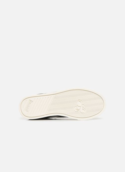 Trainers Hummel Slimmer Stadil Duo Oiled Low Black view from above