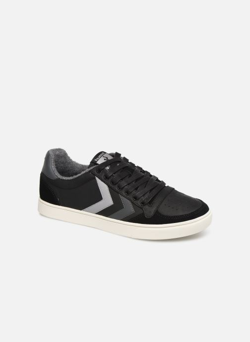 Trainers Hummel Slimmer Stadil Duo Oiled Low Black detailed view/ Pair view