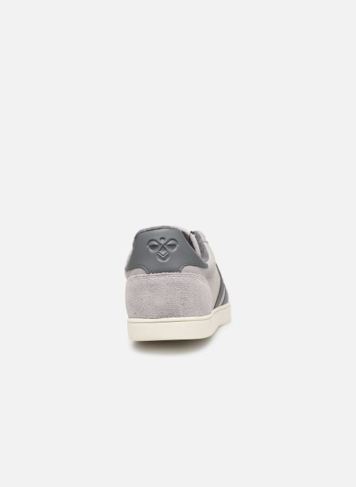 Trainers Hummel Slimmer Stadil Duo Oiled Low Grey view from the right