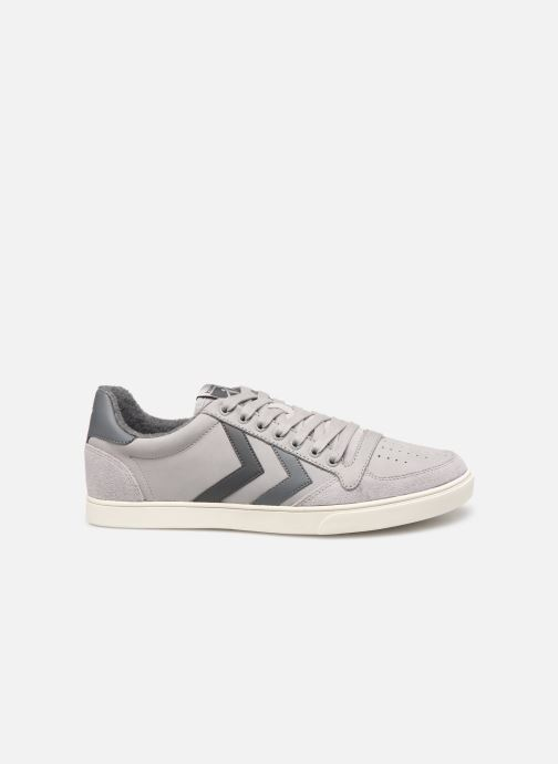 Trainers Hummel Slimmer Stadil Duo Oiled Low Grey back view