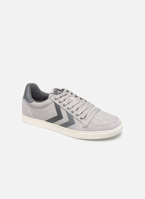 Trainers Hummel Slimmer Stadil Duo Oiled Low Grey detailed view/ Pair view