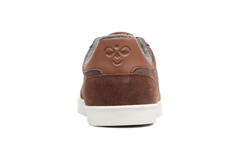 Sneakers Hummel Slimmer Stadil Duo Oiled Low Bruin rechts