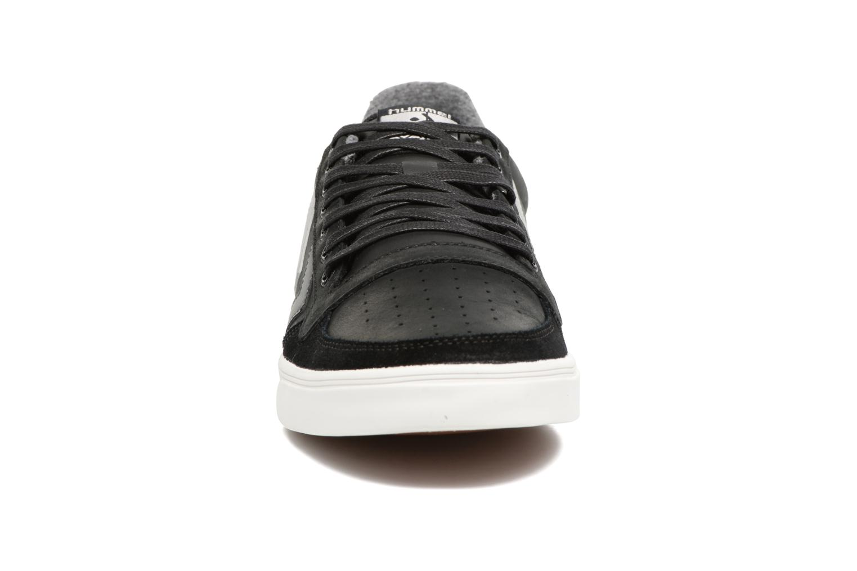 Baskets Hummel Slimmer Stadil Duo Oiled Low Noir vue portées chaussures