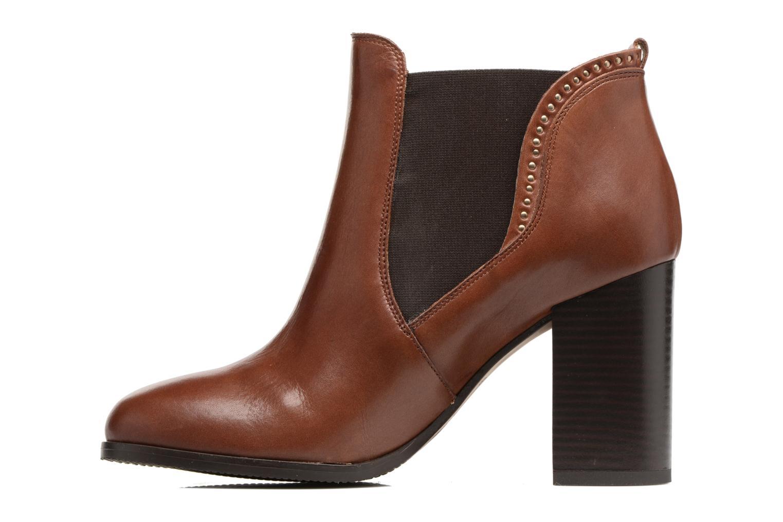 Bottines et boots Georgia Rose Aclous Marron vue face