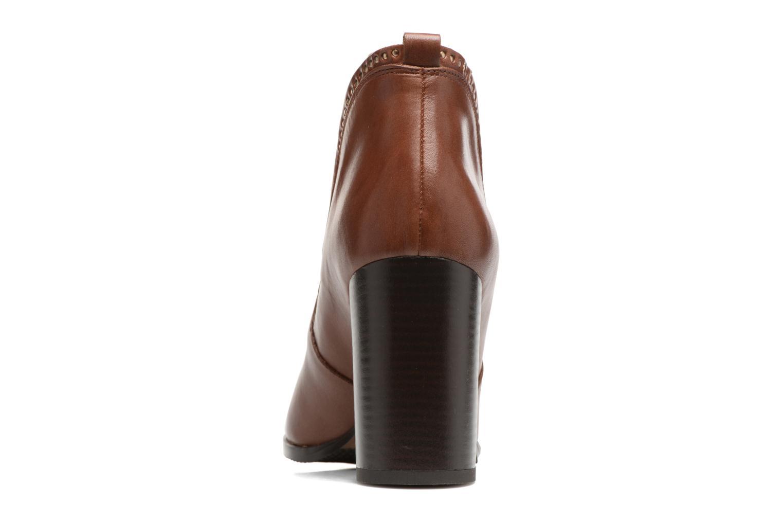 Bottines et boots Georgia Rose Aclous Marron vue droite