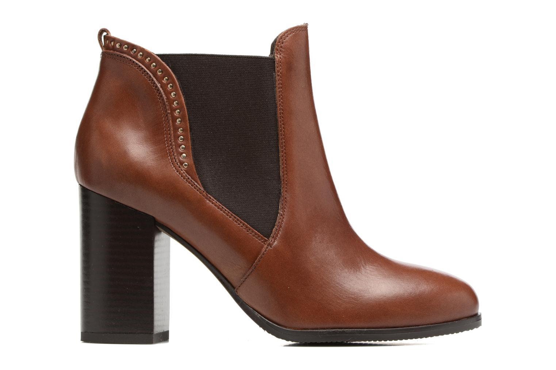 Bottines et boots Georgia Rose Aclous Marron vue derrière