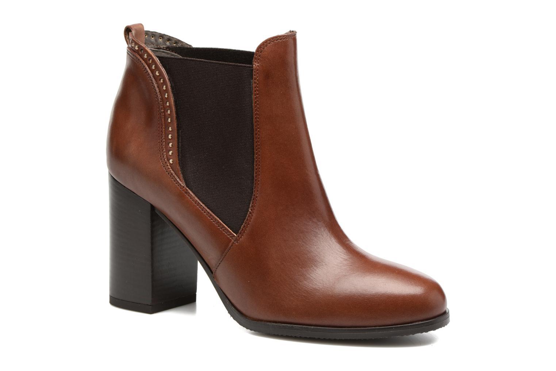 Bottines et boots Georgia Rose Aclous Marron vue détail/paire