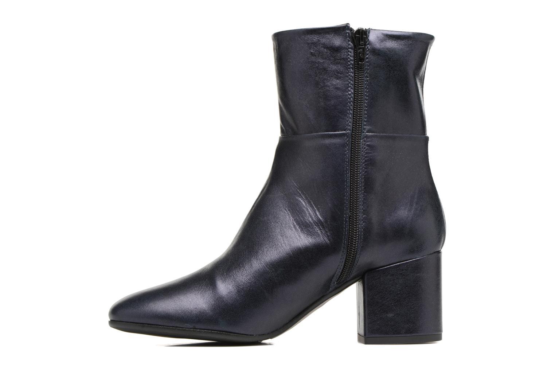 Bottines et boots Georgia Rose Anlala Bleu vue face