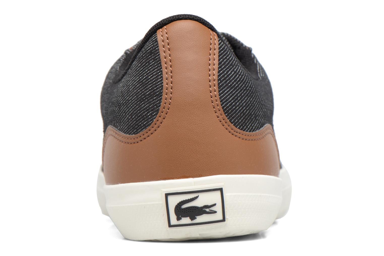 Baskets Lacoste LEROND 317 2 H Noir vue droite