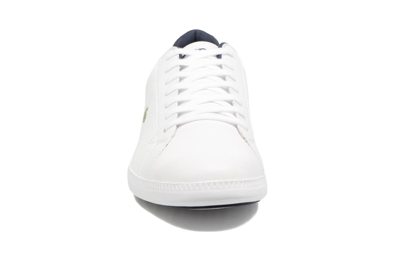 Baskets Lacoste GRADUATE LCR3 SPM Blanc vue portées chaussures