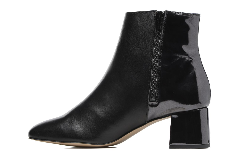 Bottines et boots Georgia Rose Serpenta Noir vue face