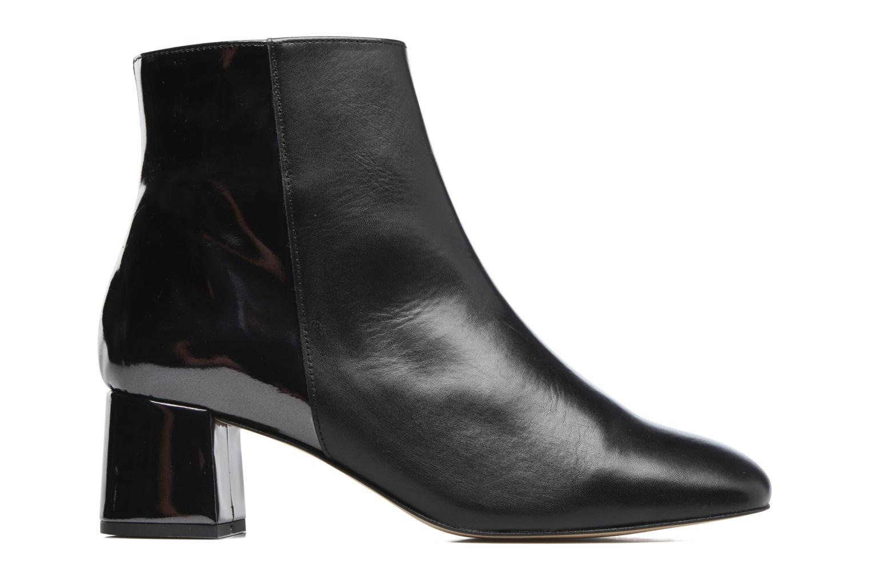 Bottines et boots Georgia Rose Serpenta Noir vue derrière
