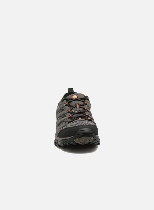Chaussures de sport Merrell Moab 2 Gtx Gris vue portées chaussures