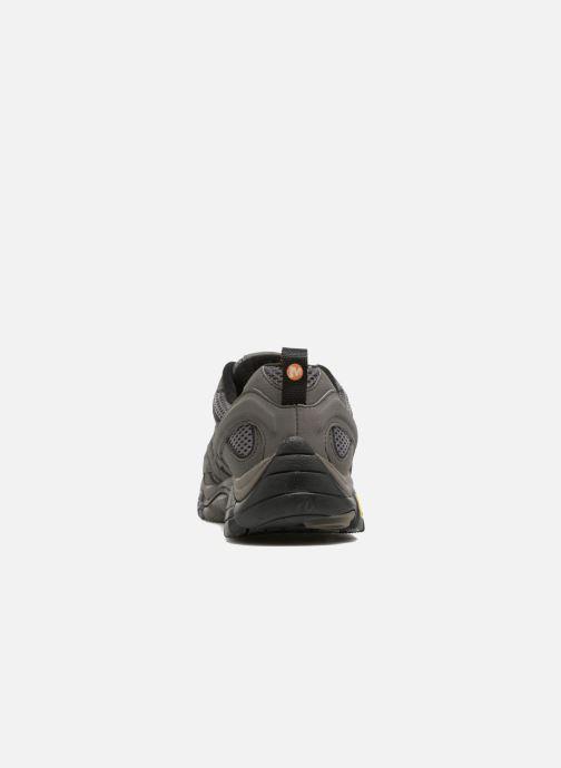 Zapatillas de deporte Merrell Moab 2 Gtx Gris vista lateral derecha