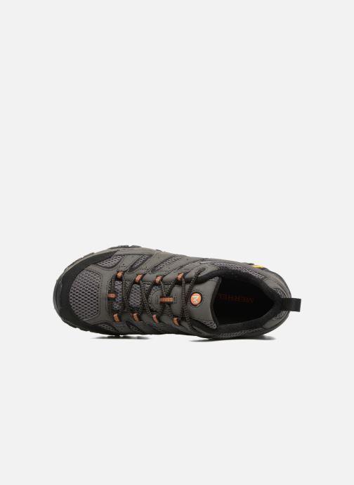 Zapatillas de deporte Merrell Moab 2 Gtx Gris vista lateral izquierda