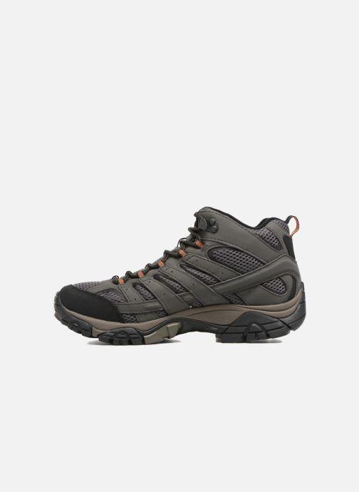 Chaussures de sport Merrell Moab 2 Mid Gtx Gris vue face