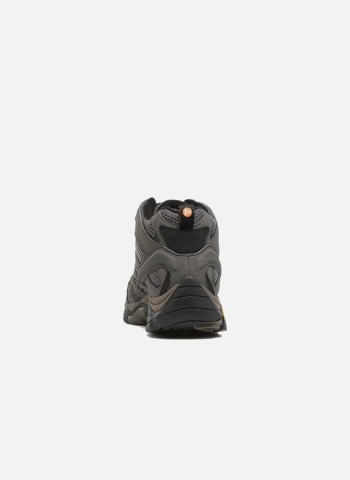 Chaussures de sport Merrell Moab 2 Mid Gtx Gris vue droite