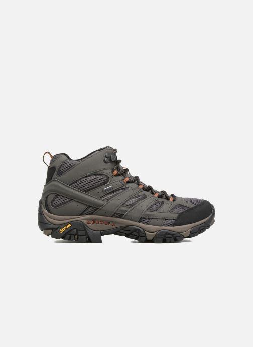 Chaussures de sport Merrell Moab 2 Mid Gtx Gris vue derrière