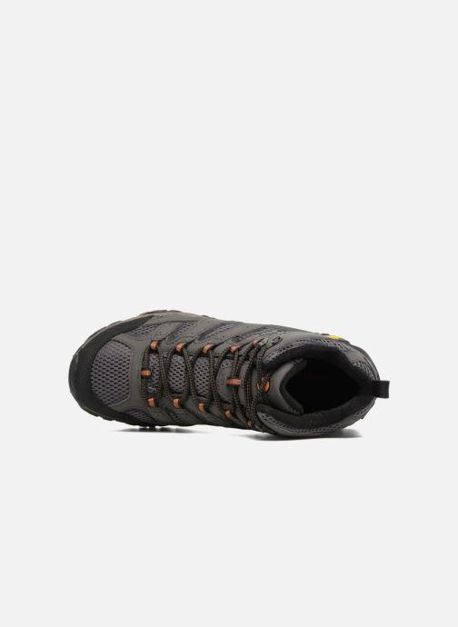 Zapatillas de deporte Merrell Moab 2 Mid Gtx Gris vista lateral izquierda