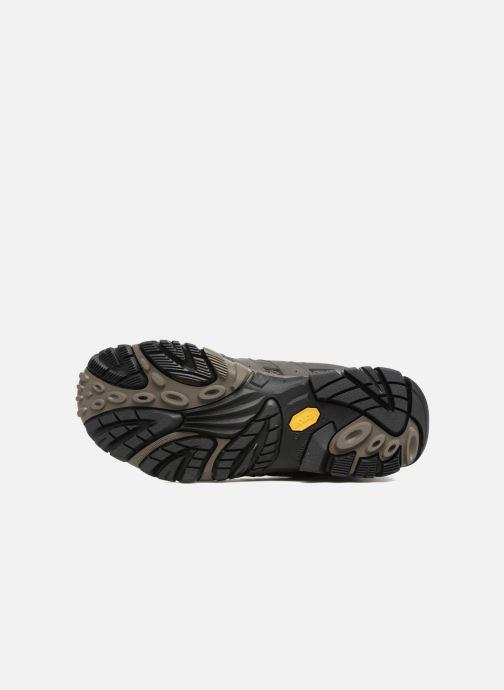 Chaussures de sport Merrell Moab 2 Mid Gtx Gris vue haut