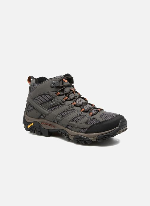 Chaussures de sport Merrell Moab 2 Mid Gtx Gris vue détail/paire