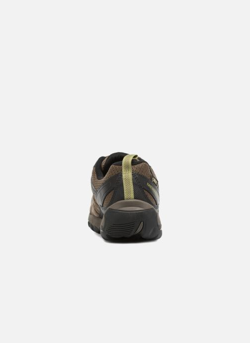 Sport shoes Merrell Outmost Vent Gtx Brown view from the right