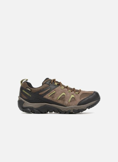 Sport shoes Merrell Outmost Vent Gtx Brown back view