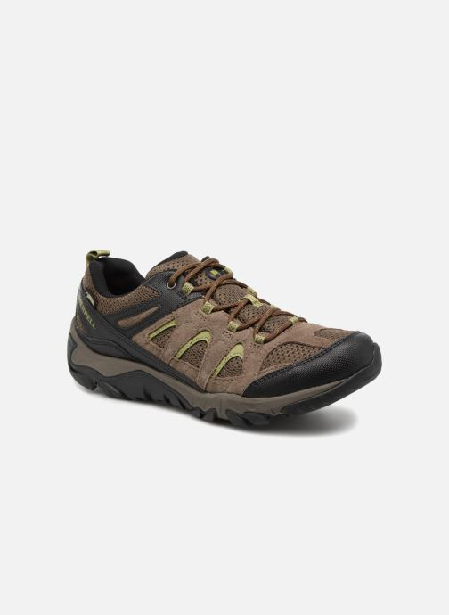 Sport shoes Merrell Outmost Vent Gtx Brown detailed view/ Pair view