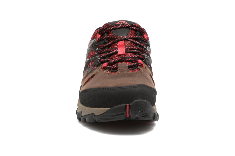 Chaussures de sport Merrell All Out Blaze 2 Marron vue portées chaussures