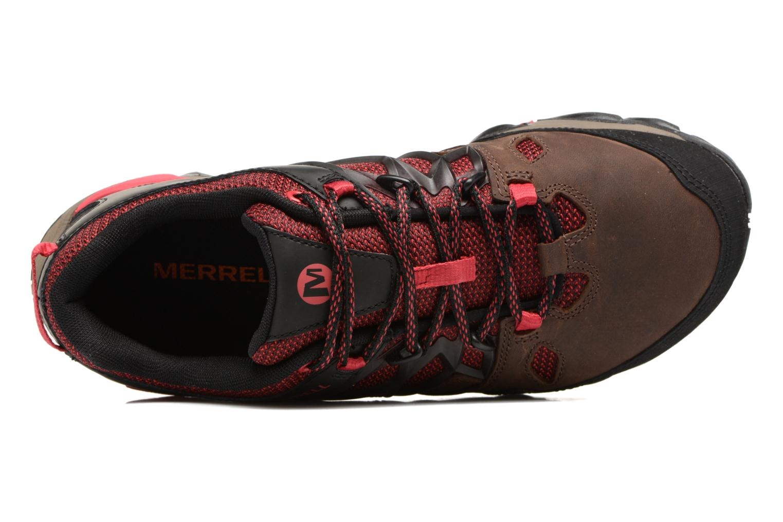 Chaussures de sport Merrell All Out Blaze 2 Marron vue gauche