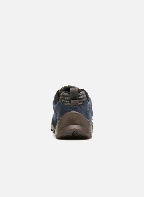 Chaussures de sport Merrell Annex Trak Low Bleu vue droite