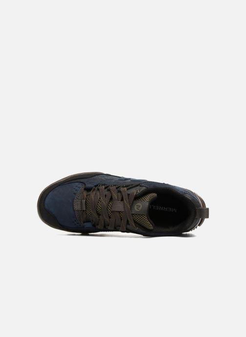 Sportschoenen Merrell Annex Trak Low Blauw links