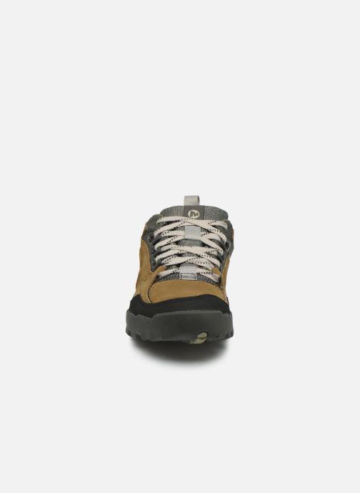 Chaussures de sport Merrell Annex Trak Low Marron vue portées chaussures