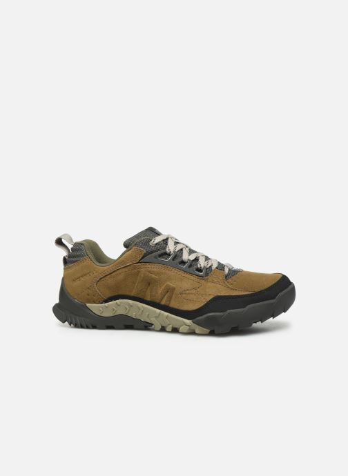 Sport shoes Merrell Annex Trak Low Brown back view