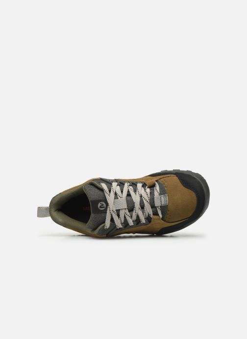 Sport shoes Merrell Annex Trak Low Brown view from the left