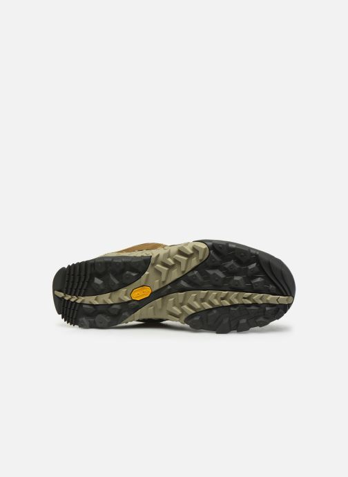 Sport shoes Merrell Annex Trak Low Brown view from above