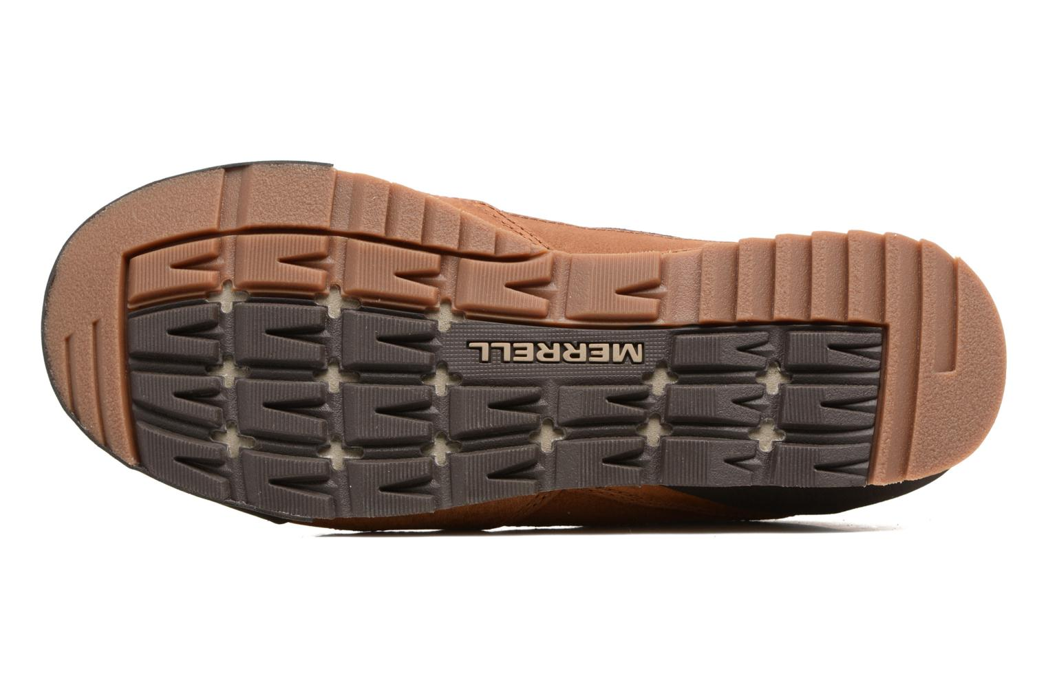 Sport shoes Merrell Burnt Rock Brown view from above