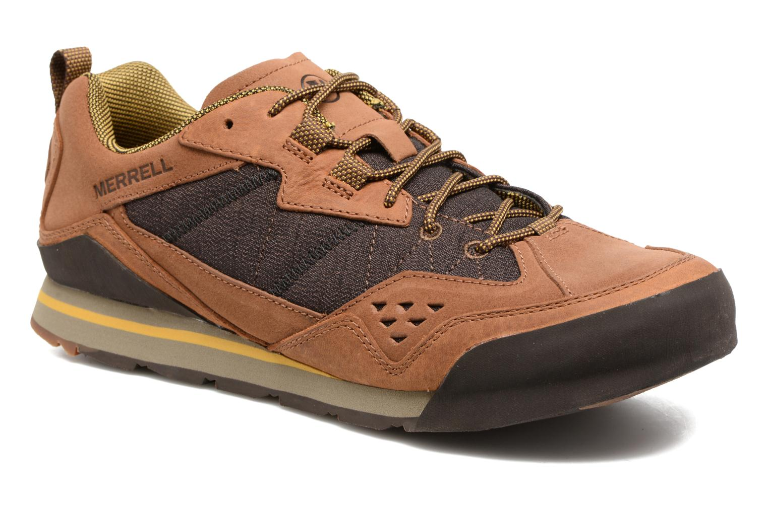 Sport shoes Merrell Burnt Rock Brown detailed view/ Pair view