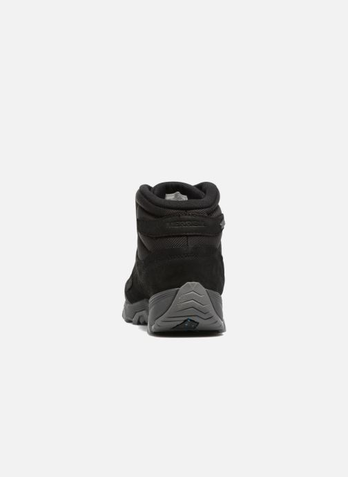 Chaussures de sport Merrell Coldpack Ice Mid Wtpf Noir vue droite