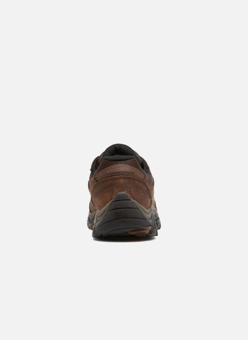 Chaussures de sport Merrell Moab Venture Lace Marron vue droite